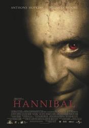 Hannibal Anthony Hopkins - plakat z filmu