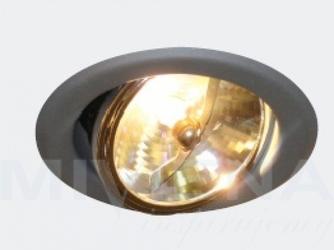 Avo oczko r-100 1x100w 12v ar111 tytanowy