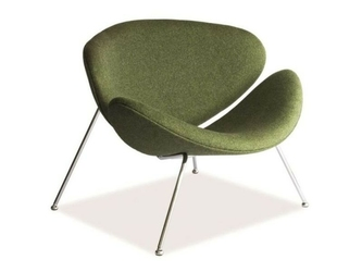 Fotel major zielony