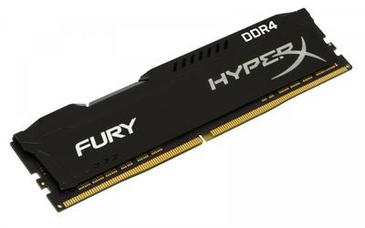 HyperX DDR4 Fury  8GB3466 CL19 1Rx8 Czarna