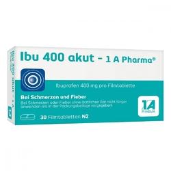 Ibu 400 akut 1a pharma w tabletkach powlekanych