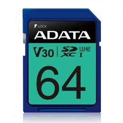 Adata Karta pamięci SDXC PremierPro 64GB UHS-I U3 V30 10080 MBs