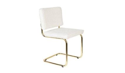Zuiver :: krzesło teddy białe wys. 85cm