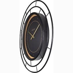 Duży, okrągły zegar ścienny 70 cm fancy nextime 3270 zw