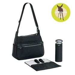 Lassig marv torba z akcesoriami urban bag black