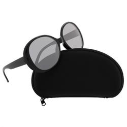 Okulary muchy damskie przeciwsłoneczne czarne 10028500