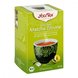 Yogi tea grüntee matcha zitrone filterbeutel