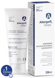 Allergoff atopy barierowa emulsja do kąpieli leczniczych 250ml