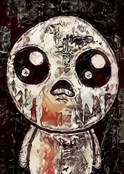 Legends of Bedlam - Isaac, The Binding of Isaac - plakat Wymiar do wyboru: 29,7x42 cm