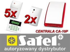 Alarm satel ca-10 lcd, 5xaqua plus, 2xnavy, syg. zew. sp-4001 - możliwość montażu - zadzwoń: 34 333 57 04 - 37 sklepów w całej polsce
