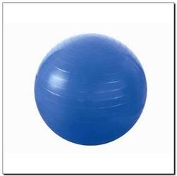Piłka gimnastyczna yb01 55 cm niebieska - hms