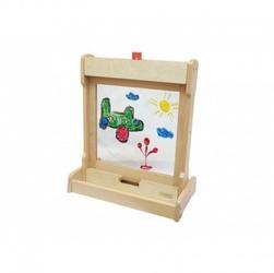 Okienko do malowania na biurko 2 w 1 statyw na tablice masterkidz