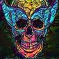 Psychoskulls, wolverine, marvel - plakat wymiar do wyboru: 21x29,7 cm