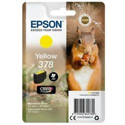 Tusz Oryginalny Epson 378 C13T37844010 Żółty - DARMOWA DOSTAWA w 24h