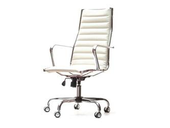 Fotel obrotowy fred biały