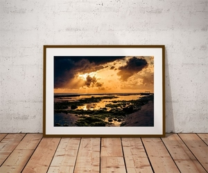 Nusa penida sunrise ii - plakat premium wymiar do wyboru: 80x60 cm