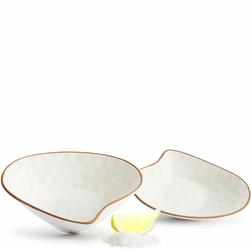 Miseczki porcelanowe w kształcie muszli morskiej Seafood Sagaform SF-5017364