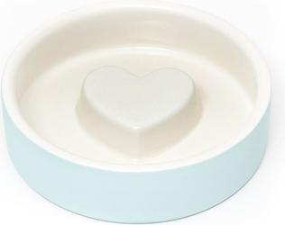 Miska dla psa lub kota naturally cooling ceramics niebieska