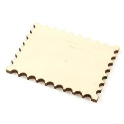 Drewniana tabliczka znaczek 7x5,3 cm