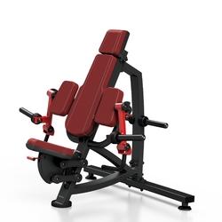 Maszyna na wolny ciężar na mięśnie dwugłowe ramion mf-u008 - marbo sport - bordowy  antracyt metalic