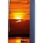Foto naklejka na lodówkę zachód słońca p65
