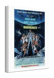 James bond moonraker - obraz na płótnie