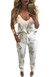2 częściowy elegancki komplet z nadrukiem , spodnie + bluzka
