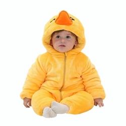 Piżama onesie kigurumi dla dzieci kaczka