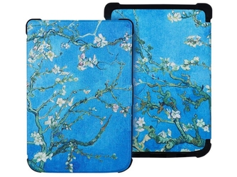 Etui alogy do pocketbook basic lux 2 616 touch lux 4 627 kwitnący migdałowiec - kwitnący migdałowiec van gogh