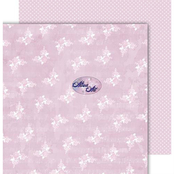Papier 30,5x30,5 cm - Ever and Always - Pink - PINK