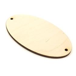 Drewniana tabliczka do decoupage 9,5x5,5 cm owal - 02
