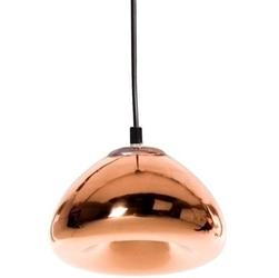 Lampa wisząca z miedzianym kloszem bella 18