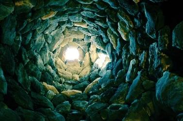 Fototapeta kamienny tunel fp 42