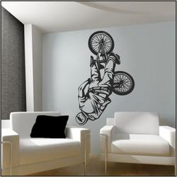 Naklejka welurowa rower bk3
