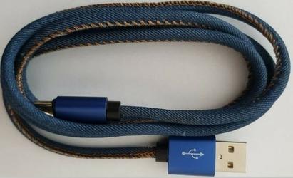 Gembird Kabel USB 8 pin premium jeans 1 m
