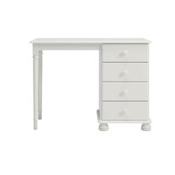 Białe romantyczne biurko richmond