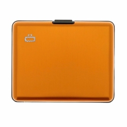 Portfel Aluminiowy Ogon Designs Big Stockholm - Orange RFID Protect - Orange