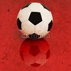 Board z aluminiowym obramowaniem tło piłka nożna