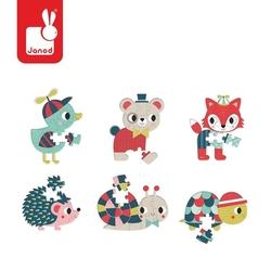 Mini puzzle Baby Forest 12 elementów