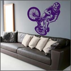naklejka ścienna rower, bmx bk12
