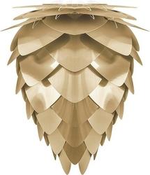 Lampa conia szczotkowany mosiądz