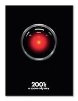 2001: a space odyssey hal - obraz na płótnie