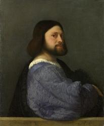 Reprodukcja portret mężczyzny, tycjan