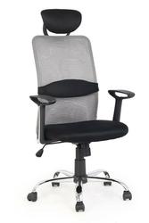 Fotel pracowniczy dancan czarno-popielaty