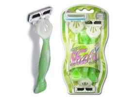 Dorco shai6, maszynka jednorazowa do golenia dla kobiet, 6 ostrzy, 3 sztuki