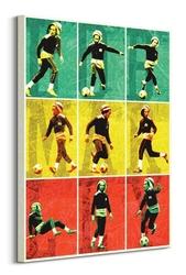 Bob marley football - obraz na płótnie