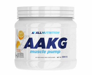 ALLNUTRITION AAKG Muscle Pump Lemon 300g - data ważności 31-10-2018r.