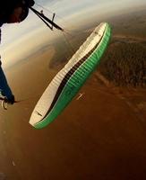 Lot paralotnią z wideofilmowaniem dla dwojga - zielona góra