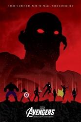 Avengers Czas Ultrona Zagłada - plakat