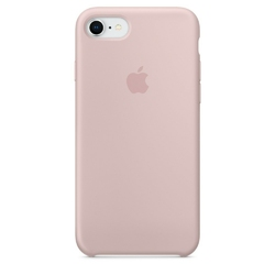Apple iPhone 8  7 Silicone Case - Pink Sand